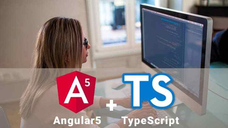 Photo of ANGULAR + TYPESCRIPT FROM BASIC TO ADVANCED + LIVE PROJECT