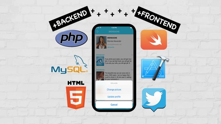 Photo of FULL PHP & SWIFT. CREATE IOS SOCIAL APP ON CUSTOM BACKEND
