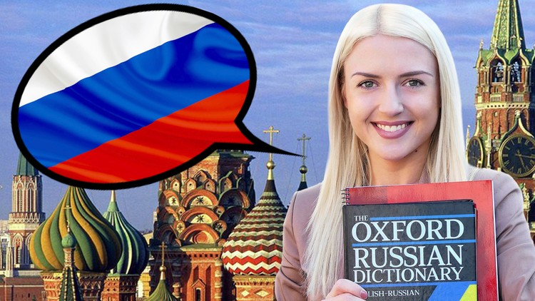Photo of COMPLETE RUSSIAN LANGUAGE COURSE FOR BEGINNERS A1