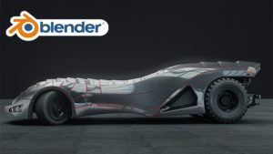 Blender: Create and rig realistic Batmobile from A to Z